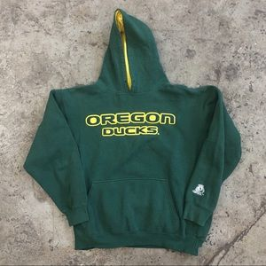 VINTAGE 00s UNIVERSITY OF OREGON DUCKS HOODIE